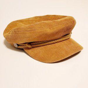 Urban Outfitters Fiddler Corduroy Hat L/XL Tan